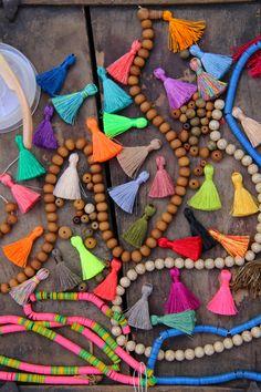 Just add tassels! Join the Tassel Revolution in Spring 2015! #tassels