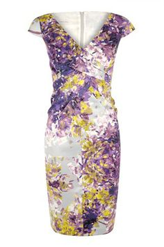 Blossom Print Dress, add our chic new print to your petite occasion wear.