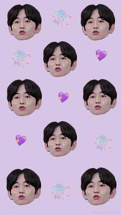 Velvet Wallpaper, K Wallpaper, Wallpaper Stickers, Lock Screen Wallpaper, Cute Panda, Hidden Treasures, Treasure Boxes, Blue Aesthetic, Yoshi