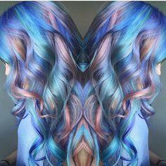 Pastel Pretty by @samploskonka Samantha your work is amazing  #hotonbeauty