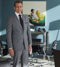 Suits Tv Series, Suits Tv Shows, Trajes Harvey Specter, Suit Fashion, Mens Fashion, Gabriel Macht, Red Band Society, Hollywood Celebrities, Mens Suits
