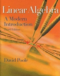 Linear Algebra: A Modern Introduction, by David Poole, traveled to New York in April 2012. http://libcat.bentley.edu/record=b1311898~S0