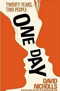one day, a book about two people who take twenty years to see what's staring them in the face