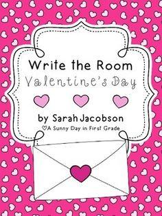 Write the Room: Valentine's Day {FREEBIE!}