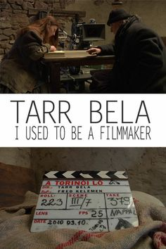 TARR BELA, I USED TO BE A FILMMAKER is an illuminating and extremely rare documentary profile of one of the great filmmakers of our time, Bela Tarr. Filmed during the production of The Turin Horse, his final film, Tarr Bela: I Used To Be A Filmmaker features clips, behind-the-scenes footage and interviews with longtime collaborators such as Mihaly Vig, Erika Bok and Tarr's wife and co-director Agnes Hranitzky. Available 4/15/14