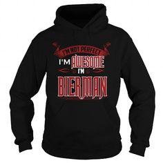 Awesome Tee  It's Good To Be BIERMAN Tshirt T shirts