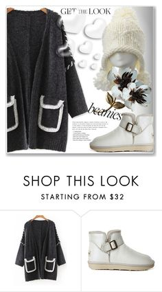 """Bad Hair Day: Beanies"" by jecakns ❤ liked on Polyvore featuring Valentino"