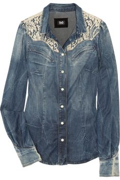 this shirt would be cute with jean shorts and some cowboy boots i think anyway!:)