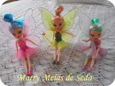Marry Meias de Seda: Fadas para Decoração de Festas