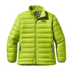 Patagonia Boys\' Down Sweater Jacket - Peppergrass Green PSS
