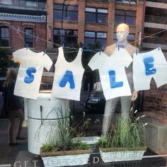 On sale! #SIGNS #sale #manequin #retro