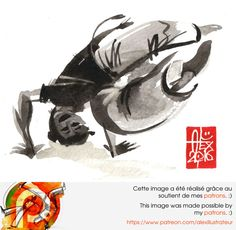 Illustration : Capoeira – 1015