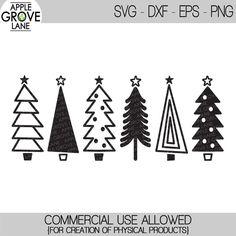 Christmas Tree Clipart, Christmas Tree Forest, Simple Christmas, Christmas Clipart, Christmas Tree Silhouette, Christmas Shirts, Christmas Crafts, Christmas Vinyl, Handmade Christmas