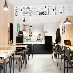 'O Petit en 'K' restaurant in Bordeaux by Hekla