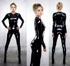 catsuit, okay let's be honest, every guy has at least once fantasized about wearing an all leather suit :)