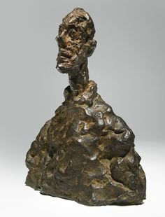 Bust of his brother Diego, by Alberto Giacometti.