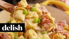 Ham and Cheese Tortellini | Delish - YouTube