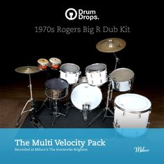 The Rogers Big R Dub Kit Multi-Velocity Sample Pack