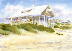 Summer Pleasures Revisited beach cottage