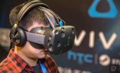 The expensive HTC vive