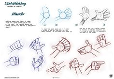 How to draw hands by celaoxxx by ~celaoxxx on deviantART