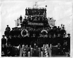 HMCS hespeler and crew Hms Hood, Royal Canadian Navy, Navy Ships, Wwii, Military, History, Soldiers, Ontario, Photographs