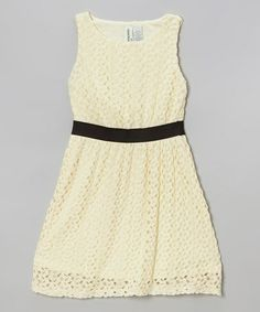 Trend Setter: Yellow Lace Dress #zulilyfinds