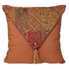 Caravan Collection Envelope Flap Throw Pillow - LampsPlus.com