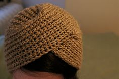 ReRae: Knit Turban Tutorial Could convert to crochet step-by-step Crochet Turban, Crochet Cap, Knitted Headband, Knitted Hats, Turban Tutorial, Knitting Patterns, Crochet Patterns, How To Purl Knit, Knitting Accessories