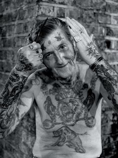 These Tattooed Seniors Show That Aging With Tattoos Looks Amazing - Mic