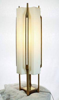 VINTAGE MID CENTURY MODERN DANISH EAMES ERA TABLE LAMP,** RARE**