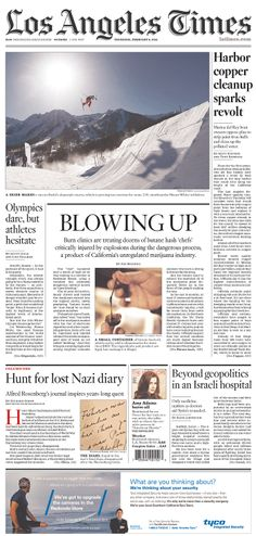 Los Angeles Times, published in Los Angeles, California USA