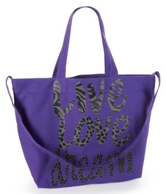 glitter live love dream canvas tote!!  I love this so much!! Cheap & awesome! <3