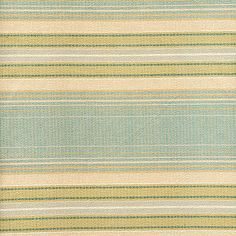 Ian Sanderson Maltster Stripe - Duck Egg cotton poly railroaded contract