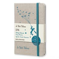 Moleskine 2016 Le Petit Prince Limited Edition Weekly Notebook, 12m, Pocket, Hard Cover (3.5 X 5.5)