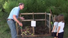 Sanford Jones (long-time Montessori-an) video about creating a raised bed garden with children