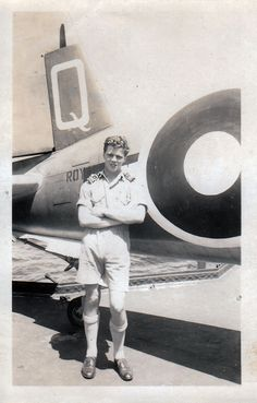 Hugh Pawson a Corsair pilot on HMS Illustrious. Courtesy of: An Illustrious Hero > Vintage Wings of Canada
