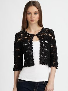 Outstanding Crochet: Crochet Cardigan from Harrison Morgan
