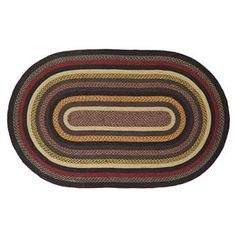 Cambrie Lane Jute 72x108 Oval Rug
