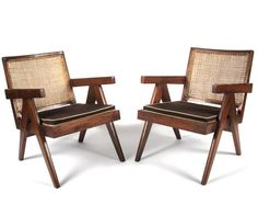 Pierre Jeanneret, 'Lounge Chairs from Chandigarh,' 1952-1956, Patrick Parrish