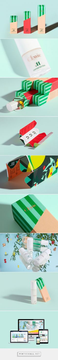 C.LAVIE - Natural cosmetics on Behance... - a grouped images picture - Pin Them All