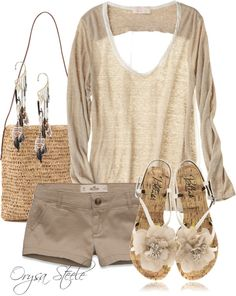 """Au Naturel"" by orysa on Polyvore"
