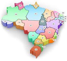 Resultado de imagem para brasil mapa