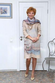 ccb41b64b4d Купить или заказать валяное платье  Утро в Венеции  в интернет-магазине на  Ярмарке
