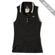 Hollister Sleeveless Icon Polo