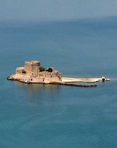 Bourtzi's Castle, Nafplio / by Yo Tours Greece, via Flickr
