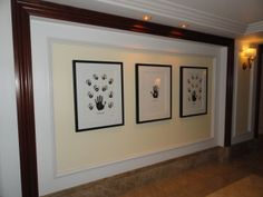Nelson Mandela's works, Impressions of Africa (Black and White), The Hand of Africa and Impressions of Africa (Colour) in the Hamilton Princess Hotel, Bermuda