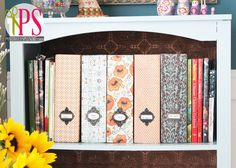 DIY Magazine Files (Free Template) | Positively Splendid {Crafts, Sewing, Recipes and Home Decor}