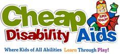 Cheap disabillity (SEN) aids..special needs