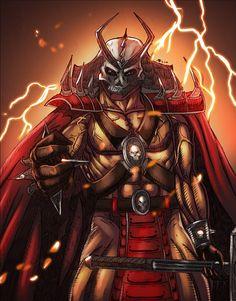Shao Kahn by t-cezar on DeviantArt Mortal Kombat Memes, Mortal Kombat 9, Game Character, Character Concept, Concept Art, Comic Art, Comic Books, Fantasy Demon, Video Game Art